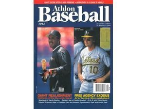Athlon CTBL-013269 Barry Bonds Unsigned San Francisco Giants Sports 1994 MLB Baseball Preview Magazine with Larussa