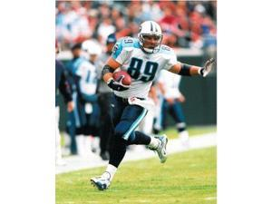 Frank Wycheck unsigned Tennessee Titans 8x10 Photos- Set of 2
