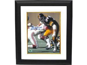 Andy Russell signed Pittsburgh Steelers 8x10 Photo Custom Framed 2X SB Champs (Super Bowl)