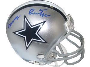 Barry Switzer signed Dallas Cowboys Riddell Mini Helmet