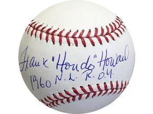 Athlon CTBL-017316 Frank Howard Signed Official Major League Baseball Dual Hondo & 1960 NL Roy - Dodgers - Senators