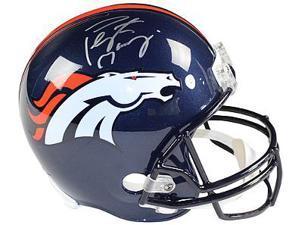 Athlon CTBL-018157 Peyton Manning Signed Denver Broncos Full Size Replica Helmet - Steiner & Fanatics Holograms