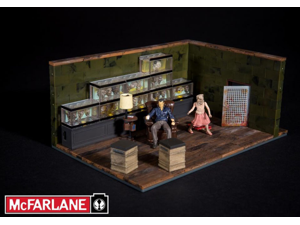 McFarlane Toys Building Sets -The Walking Dead TV The Governor's Room Building Set (292 pcs/pzs)