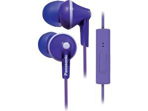 Panasonic Rp-tcm125-v Tcm125 Earbuds With Remote & Microphone (Purple)