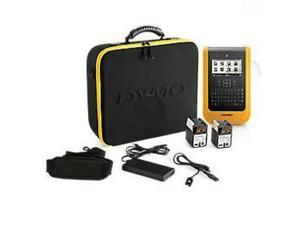 """Dymo XTL 500 Label Maker Kit - Thermal Transfer - 1.10 in/s Mono - 300 dpi - Label, Tape, Heat Shrink Tubing - 2.13"""" - Battery, Power Adapter - 1 Batteries Supported - Lithium Polymer (Li-Polymer) - B"""