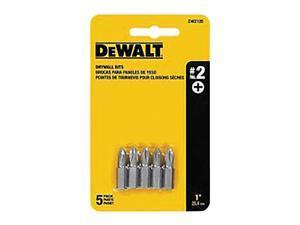 "DEWALT DW2105 Screwdriver Bit,#2 PH,1/4"" Shank,PK5 G7639441"