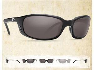 040ab468660ba Costa Del Mar Brine Sunglasses Black 580P Gray BR 11 OGP