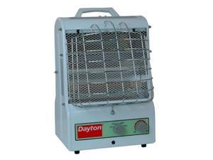 1500/900/600W Electric Space Heater, Fan Forced/Radiant, 120V DAYTON 3VU31