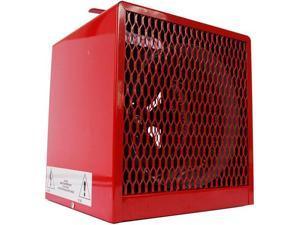 DAYTON 3VU34 Portable Electric Jobsite & Garage Heater, 4000W/3000W, 208/240V AC