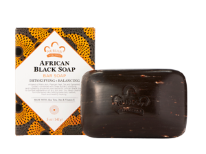 African Black Soap - Nubian Heritage - 5 oz - Bar
