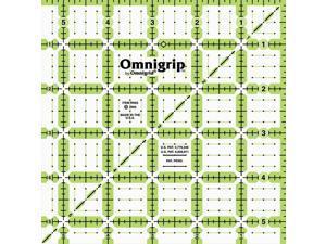 """Omnigrip Non-Slip Quilter's Ruler-5-1/2""""X5-1/2"""""""