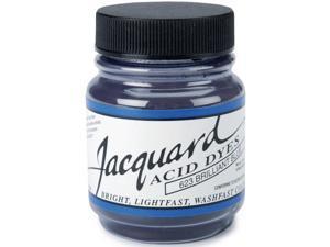 Jacquard Acid Dyes 1/2 Ounce-Brilliant Blue
