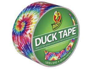 """Patterned Duck Tape 1.88""""X10yd-Love Tie-Dye"""