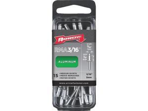 Arrow 3/16 In. x 1/4 In. Aluminum IP Rivet (50 Count) RMA3/16IP