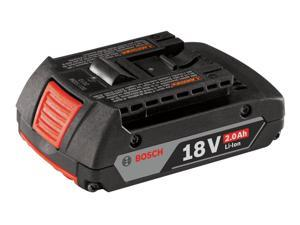 Battery Pack,18V,2.0Ah,Li-Ion BOSCH BAT612