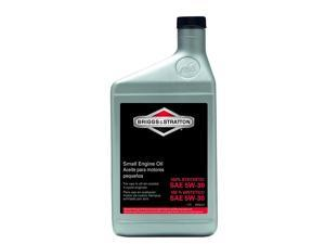 Briggs and Stratton Genuine OEM Replacement Oil # 100074