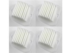 HQRP Filter 4-Pack for Electrolux EL012B S-Filter Replacement 1130939-01 113093901 9001954123 9002564053 1130032012 1130032038 1130232018 1130684010 9001951202 Vac Vacuum Cleaner