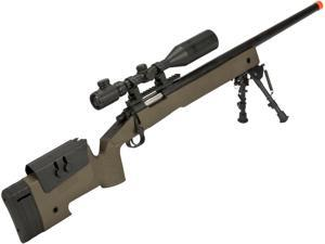 PDI Custom S&T USMC M40A3 Bolt Action Airsoft Sniper Rifle w/ PDI Internals (Model: Desert/500 FPS)