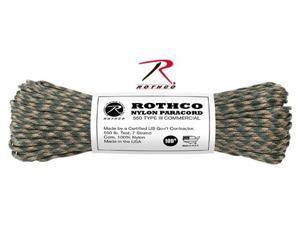 Rothco 180 Cord 550Lb Camo - 100'