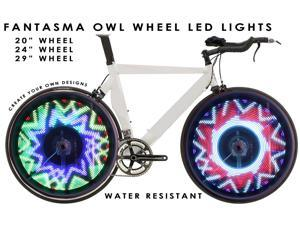 "Fantasma BK-2482 OWL Bicycle On-Wheel LED Imaging System  (24""~up)"