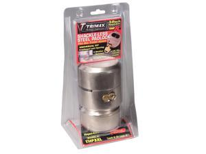 THP3XL TRIMAX Hockey Puck 3 Pack Keyed Alike Trailer Door Lock