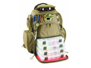 Wild River Tackle Tek Nomad Lighted Backpack 4 Trays - WT3604