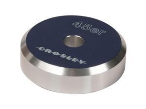 CROSLEY RADIO CR9100A-BL 45'er Aluminum 45RPM Adapter ,Blue