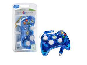 PDP Rock Candy Controller For Microsoft Xbox 360 - Blue