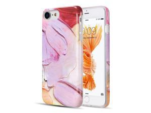 Insten The Artistry Collection With Glitter Painters Dream Marble TPU Gel Case Cover For Apple iPhone
