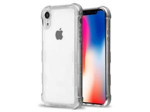 Insten TPU Rubber Candy Skin Case Cover For Apple iPhone XR, Clear