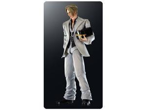 Final Fantasy VII Advent Children Rufus Shinra Action Figure