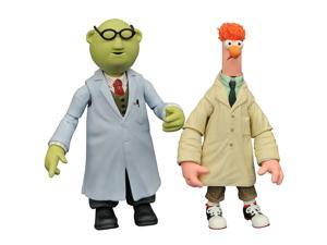 The Muppets: Beaker & Bunsen Honeydew Select Action Figure (2 Pack)