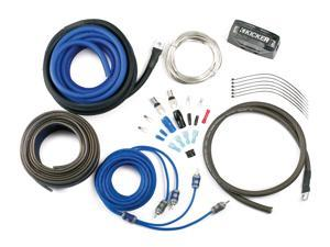 Kicker CK8 Complete 8-gauge amplifier wiring kit — includes 2-channel patch cable and speaker wire