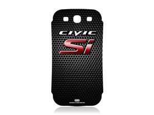 Honda Civic Si Red Logo Grille Vinyl Skin for Samsung Galaxy S3