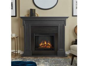 Real Flame Thayer Electric Fireplace in Gray