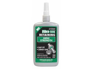 Vibra-tite Retaining Compound, 8.45 oz. Bottle, 3000 Shear Strength (PSI) 54125
