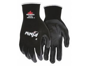 Water-Based Polyurethane/Nitrile Coated Gloves,  L,  4 ANSI/ISEA Abrasion Level