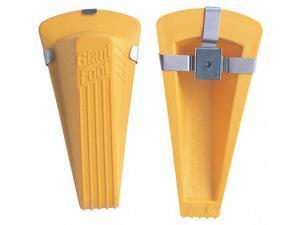 Giant Foot Door Wedge Yellow  TPE (Thermoplastic Elastomer Santoprene)  00967