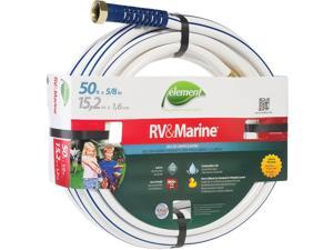 Element 5/8 In. Dia. x 50 Ft. L. Drinking Water Safe RV&Marine Hose CELMRV58050