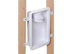 Dundas Jafine 12.05 In. W. x 17.5 In. L. x 3.45 In. D. White Dryer Wall Box