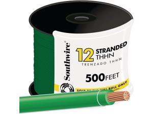 Southwire 22968258 THHN Wire-500' 12STR GRN THHN WIRE