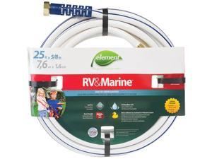 Element 5/8 In. Dia. x 25 Ft. L. Drinking Water Safe RV&Marine Hose CELMRV58025