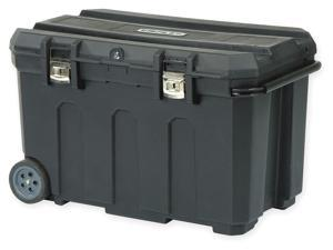 "Stanley 50 Gallon Rolling Tool Box, 22-3/16"" W X 37-1/2"" D"