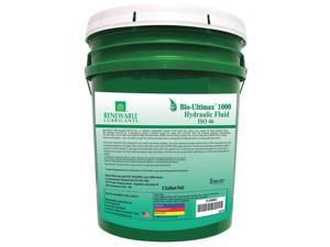 Vegetable Oil Hydraulic Oil, 5 gal. Pail, ISO Viscosity Grade : 46
