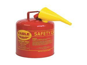 EAGLE UI50FS 5 gal. Red Galvanized steel Type I Safety Can for Flammables