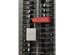 Master Lock 470-493B Circuit Breaker Lockout - For Standard Single And Double Toggles