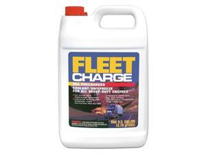 FLEET CHARGE FCA0B3 Antifreeze Coolant,1 gal.,RTU