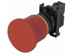 EATON M22-PVT-K01 Emergency Stop Push Button,Red