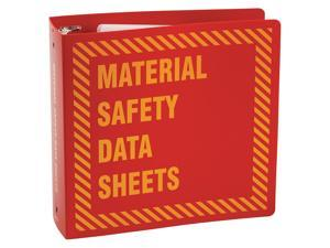 D BRADY SM682A Safety Information Center,4-3//4 In