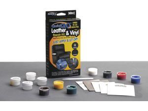 Leather and Vinyl Repair Kit, Red, Blue, Green, Yellow, White, Brown, Black